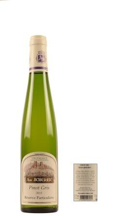 2014 A. Scherer (0,375) Pinot Gris Réserve Particulière (0,38l, Blanc Elzas)