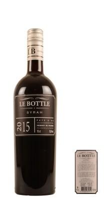 2015 Le Bottle Vin de Pays d'Oc Syrah Languedoc