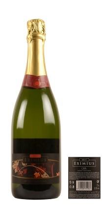 Eximius Brut 90% Macabeo y 10% Chardonnay Valencia